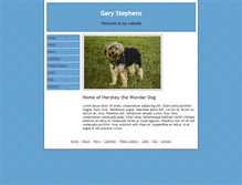 Tablet Preview of garystephens.info